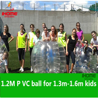 1.2M PVC Inflatable Bubble Soccer Football Ball, Bumper Bal bubble ball bubble football zorb ball soccer bola de futebol