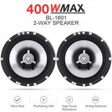 2pcs 12V 6.5 Inch 400W Car Coaxial Auto Audio Music Stereo F