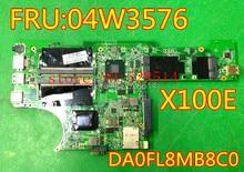 original 60Y5711 DA0FL8MB8C0 for X100E Laptop Motherboard 100% Test ok