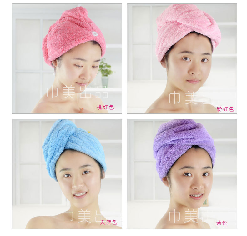 microfibre hair wrap towel drying wrapturban head band super soft and absorban fast