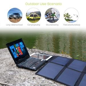 Image 5 - 40W Solar PANEL Charger แบบพกพาแบตเตอรี่ชาร์จ 5V 12V 18V สำหรับโทรศัพท์มือถือแท็บเล็ตแล็ปท็อป 12V ฯลฯ