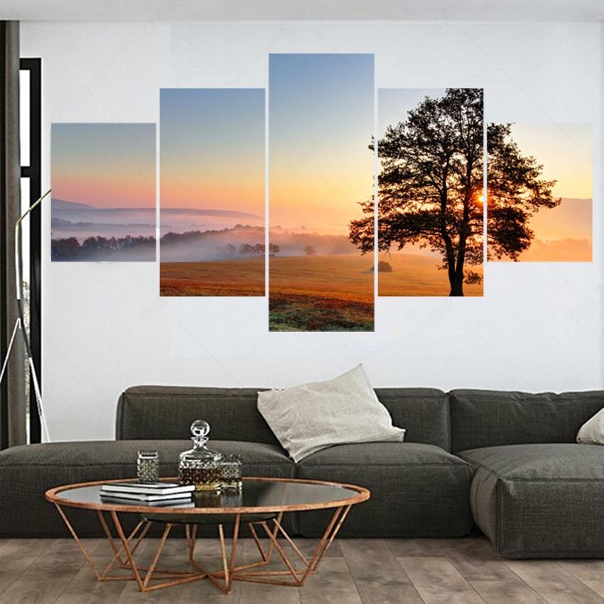 ᐃ5 unidades lienzo decoracion pintura lienzo cuadros para sala ...