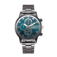 2019 New Fashion men watches water proof Women Crystal Stainless Steel Analog Quartz Wrist Watch Bracelet relogio masculino