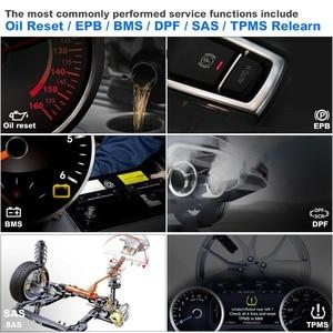 Image 2 - Autel Maxicom MK808BT OBD2 Scanner Auto Diagnostic Tool Diagnose Functies Van Epb/Immo/Dpf/Sas/Tmps pk Launch X431 MK808TS