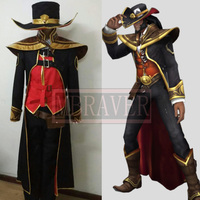 LOL Twisted Fate Cosplay Costume the Card Master Twisted Fate Cosplay
