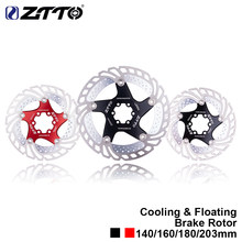 ZTTO MTB Quick Cool Down Bicycle Cooling Disc Brake Floating Rotor 7075 AL Stainless Steel Mountain Road Bike 140/160/180/203mm(China)