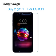 Buy 2 get 1 Full Cover Tempered Glassfor for LG K11 K8 Screen Protector 9H Film Ultra-thin Cell Phone Glass 2.5D