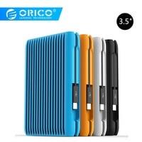 ORICO 2 TB USB3.1 Gen2 TYPE C 10Gbps 3.5 High Speed Shockproof External Hard Drives HDD Desktop Laptop Mobile Hard Disk EU Plug