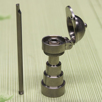 For Hookahs glass water pipes Hookahs baseball cap GR2 Titanium Nail 10mm & 14.4mm & 18.8mm Adjustable Male and Female