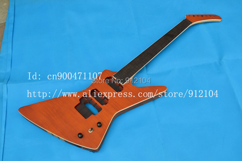 retail new 7-strings electric guitar the brick guitar made in China +EMS free shipping+foam box F-1819  цены онлайн
