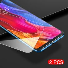 2pcs/Lot Screen Protector For Xiaomi Redmi S2 Y2 6 6A 5A 5 Plus Note 4 4X 5 6 Pro Tempered Glass Protective Film(China)