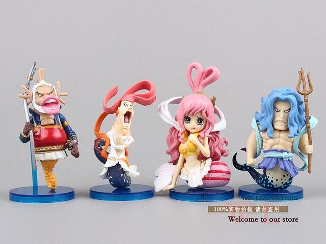 Anime One Piece 8pcs/set Figures PVC Action Figure Toy