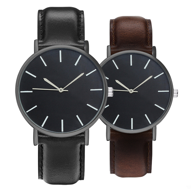 New Luxury Male Clock Ultra Thin Dial Business Quartz Watch Men Leather Strap Casual Sports Wristwatches Fashion Women Watches цена