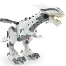 Flashing Large Dinosaur Robot
