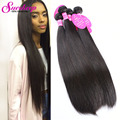 Peruvian Virgin Hair Straight Human Hair Extensions 2 Bundles Straight Hair Weave 7A Unprocessed Virgin Hair Peruvian Straight