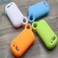 YFW 6000 mAh Pequeno Pé de Banco de Energia Móvel 18650 USB Bateria Externa de Backup Carregador Portátil para Telefones celulares