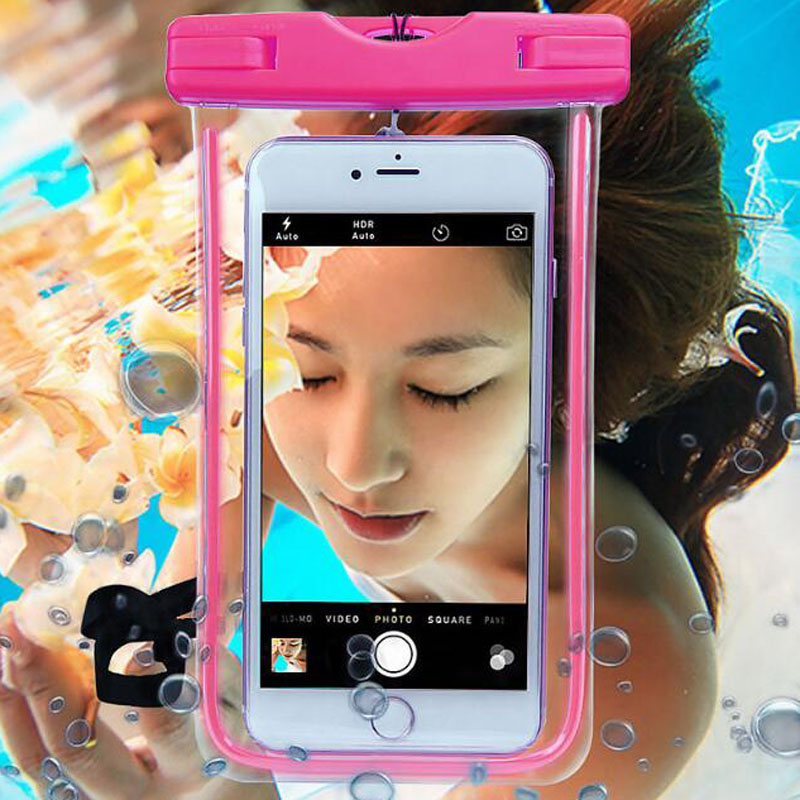Phone Pouch Waterproof Case Phone For Samsung Underwater Light Box Galaxy Note 5 4 3 2 A5 A7 J5 J7 Rear Cover For Iphone 6s 6sp For Xiaomi Be Friendly In Use Cellphones & Telecommunications