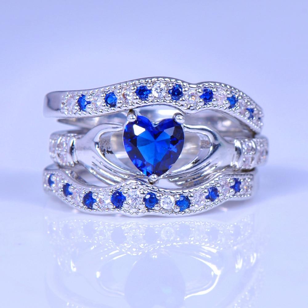 28 claddagh wedding ring set Claddagh Wedding Ring LS WED Mo Anam Cara MY SOUL MATE