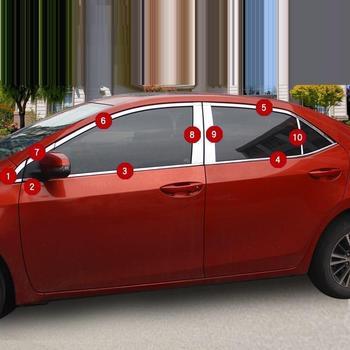 Trước Cửa Sổ Lưới Tản Nhiệt Bên Ngoài Bền Tự Động Trang Trí Crom Mouldings Sáng Kim Sa Lấp Lánh Phụ Kiện 18 19 CHO Xe Toyota Levin