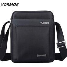 VORMOR Men bag 2018 fashion mens shoulder bags, high quality oxford casual messenger bag business men's travel bags