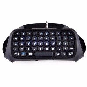 Image 3 - Dla Sony PS4 PlayStation 4 kontroler akcesoriów Mini bezprzewodowa klawiatura Bluetooth