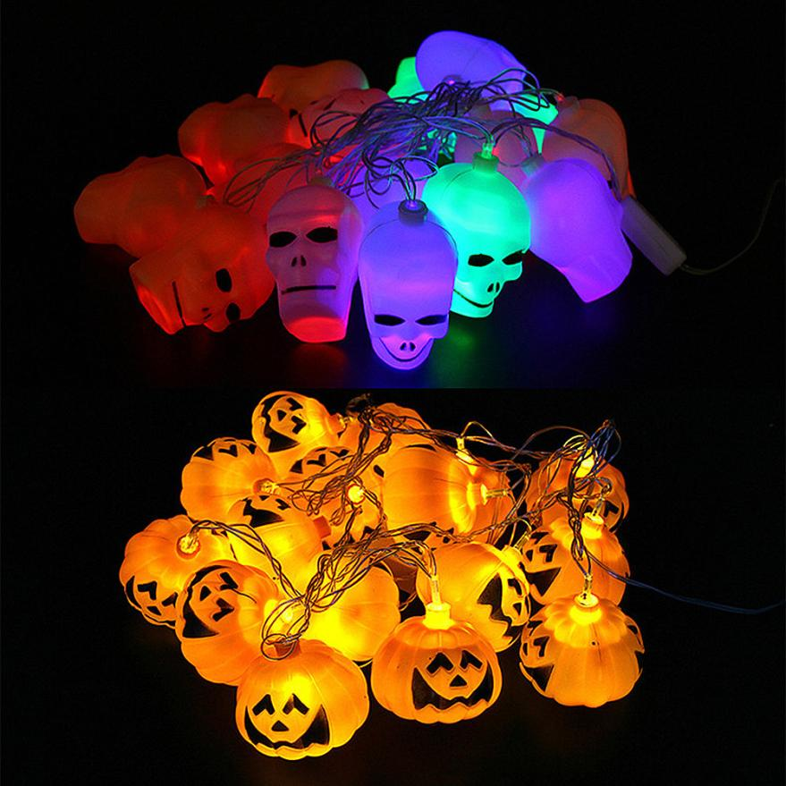 Halloween Decoration Halloween Illuminated Skull Skeleton Ghost Lights Pumpkin Lights Halloween Day special decorationYH 460533 in Glow Party Supplies from Home Garden