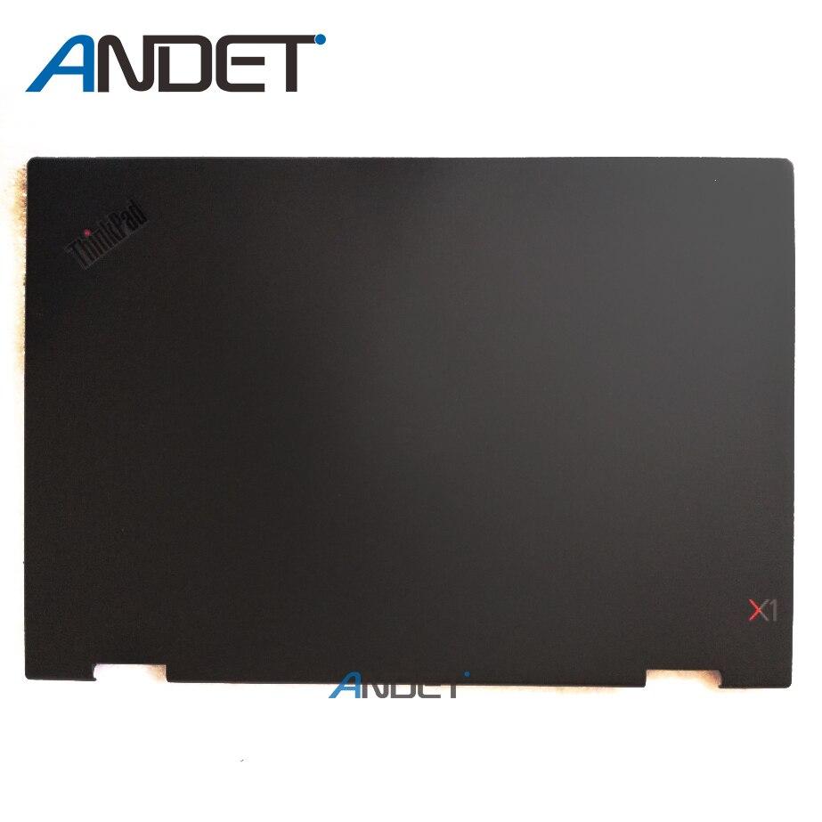 New Original Lenovo ThinkPad X1 Yoga 3rd Gen 3 20LD 20LE 20LF 20LG LCD Cover Rear Lid Back Case Black 01AY948 01AY947 new original lenovo yoga 3 11 lcd back cover rear lid white or orange