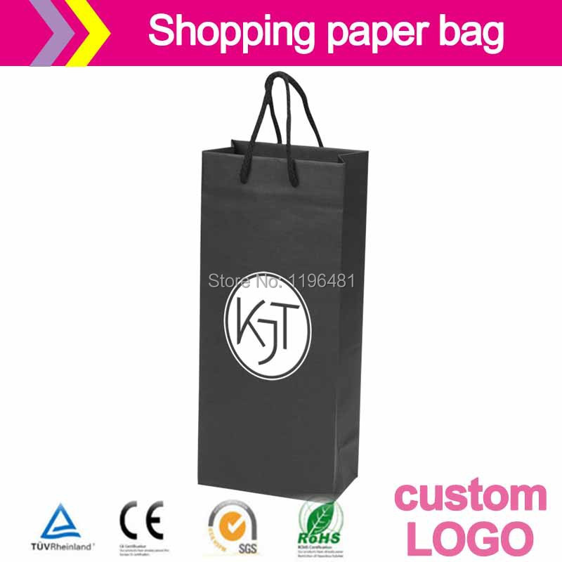 Designer Patterns On paper bag Customization accept logo printing jewelry gift packaging pouches