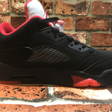 NEW 2018 Jordan 5 Retro Low Black red Men s Basketball Shoes Sports  Sneakers 41-47 6ff65a8f548