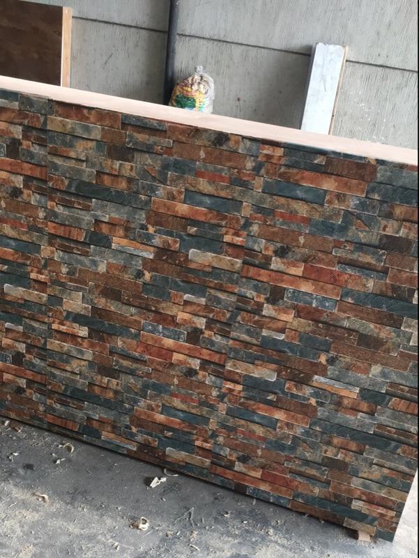 3D Brick Wall Self adhesive Wall Paper Peel Sticker PVC Stone Contact paper Decor Waterproof