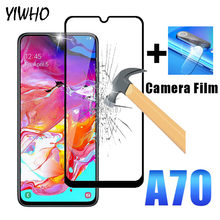 Tempered Glas for Samsung Galaxy A70 Glass Screen Protective & Camera Lens Film Tempered A70 A705 A7050 Safety Protective Glass(China)