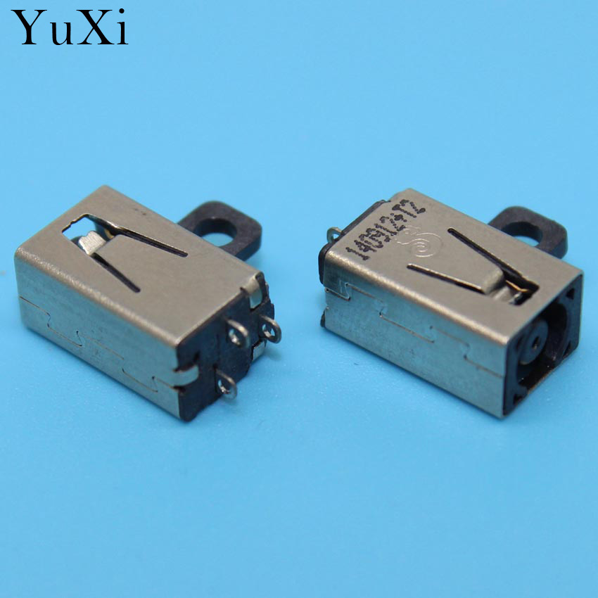 YUXI 5-100 NEW DC Power Jack Connector for DELL Inspiron 5555 5558 5559 v3558 v3559 3459 5455 5458 5459 7460 7560 3147 DC JACK new lcd back cover for dell inspiron 15u 5000 5555 5558 5559 v3558 v3559 vostro 355 a shell ap15a000510 ap1g9000300 silvery