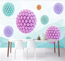 Custom wallpaper HD abstract space polygon ball 3D TV background wall - silk waterproof material v ya 925 stertling silver agates water drop earrings natural stone dangle earrings women wedding party jewelry gift