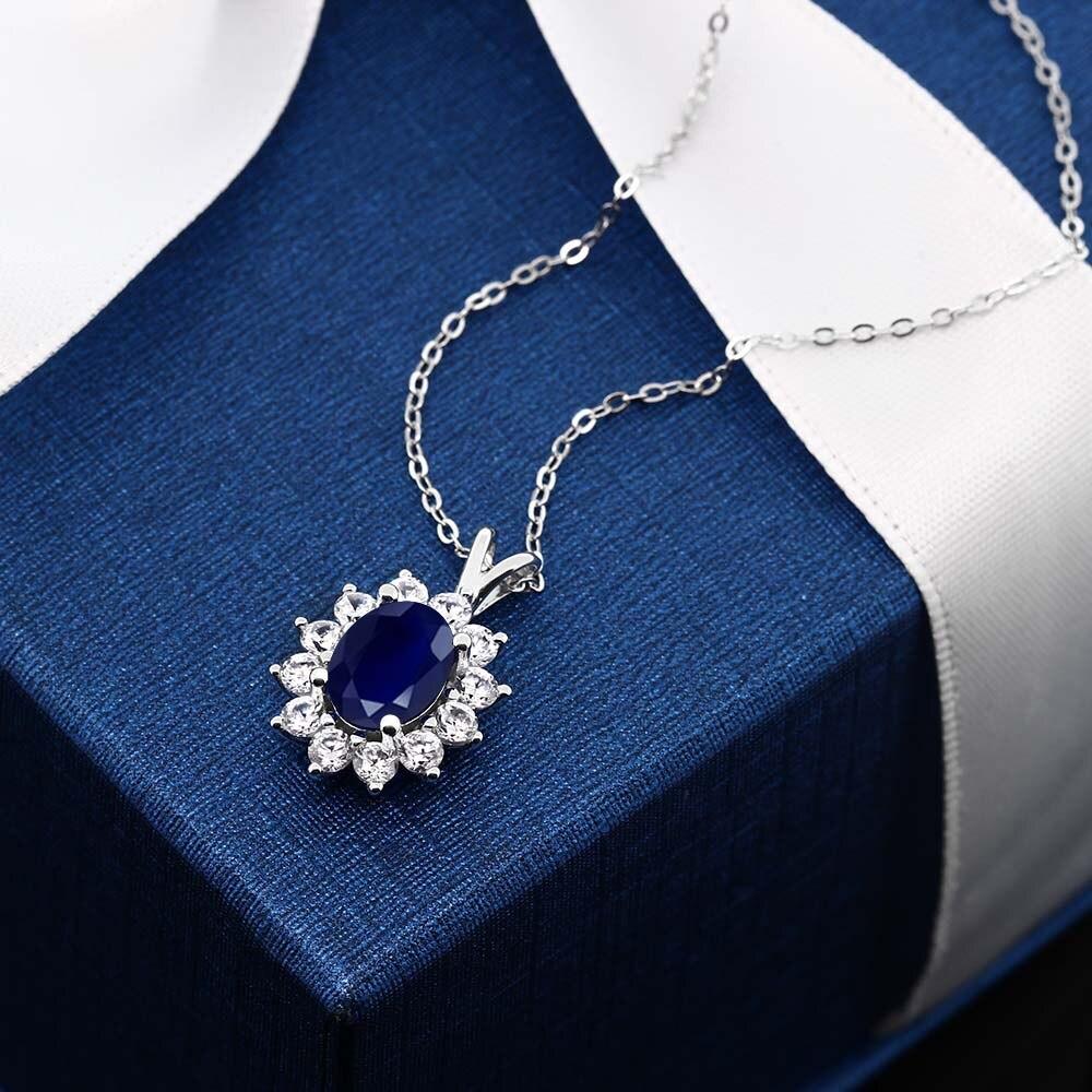 Gem Pierre Roi Soleil Fleur De Mariage Beaute Collier Ovale Naturel