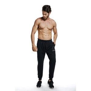 Image 5 - GYMOHYEAH 2018 סתיו אימונית גברים סטים מזדמנים זכר סווטשירט ארוך שרוול מכנסיים מכתב מזדמן Streetwear חליפת כושר בגדים