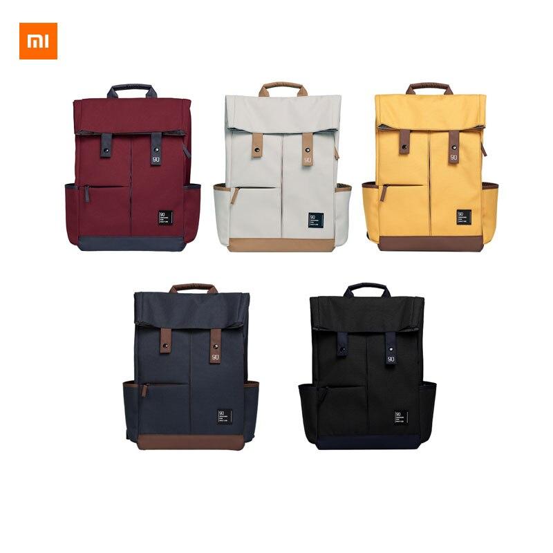 Xiaomi Youpin 90fun sac à dos de loisirs Ipx4 hydrofuge grande capacité sac à dos 14/15. 6 pouces sac unisexe Smart accessoires