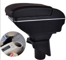 For Nissan March Micra K13 MK4 IV armrest box central Store content Storage box with cup holder ashtray USB interface 2010-2015 дефлекторы окон novline nissan micra nissan march 2003 2010 комплект 4шт nld snimic0332