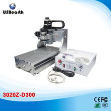 3 axis cnc machine 3020Z-D300 PCB milling machine with ball screw, free tax to EU