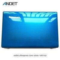 Genuine New For Lenovo Z570 Z575 Laptop LCD Rear Lid Back Cover Top Case Shell Blue