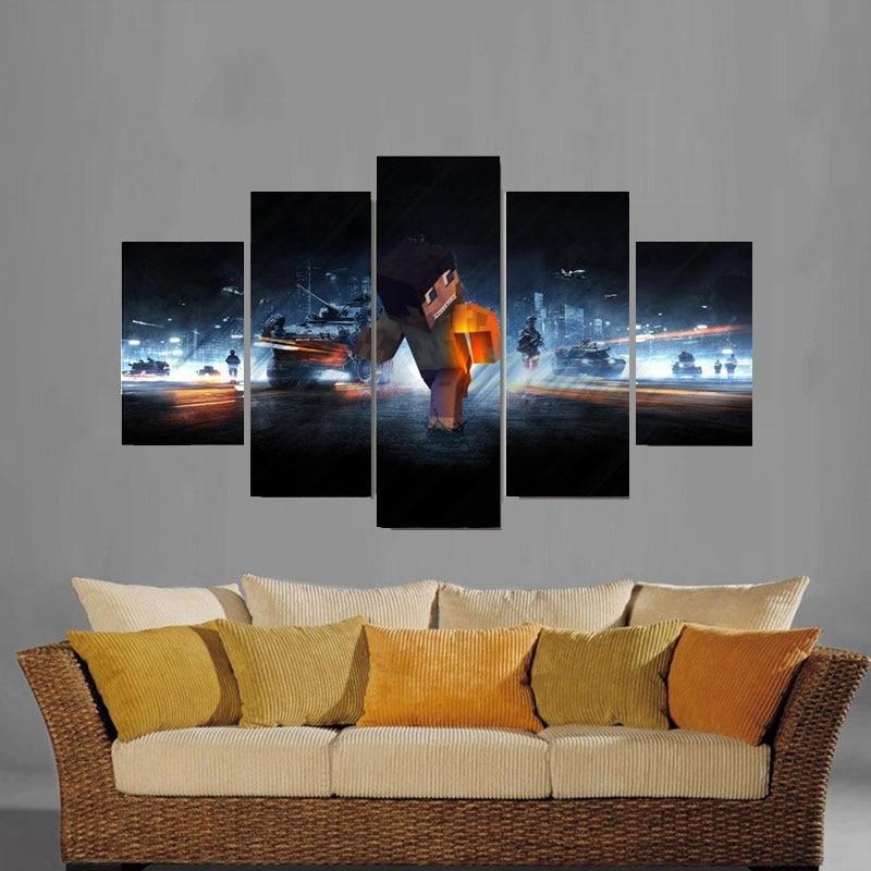 Moderne Leinwand Bilder HD Gedruckte Wandkunst Rahmen Wohnzimmer ...