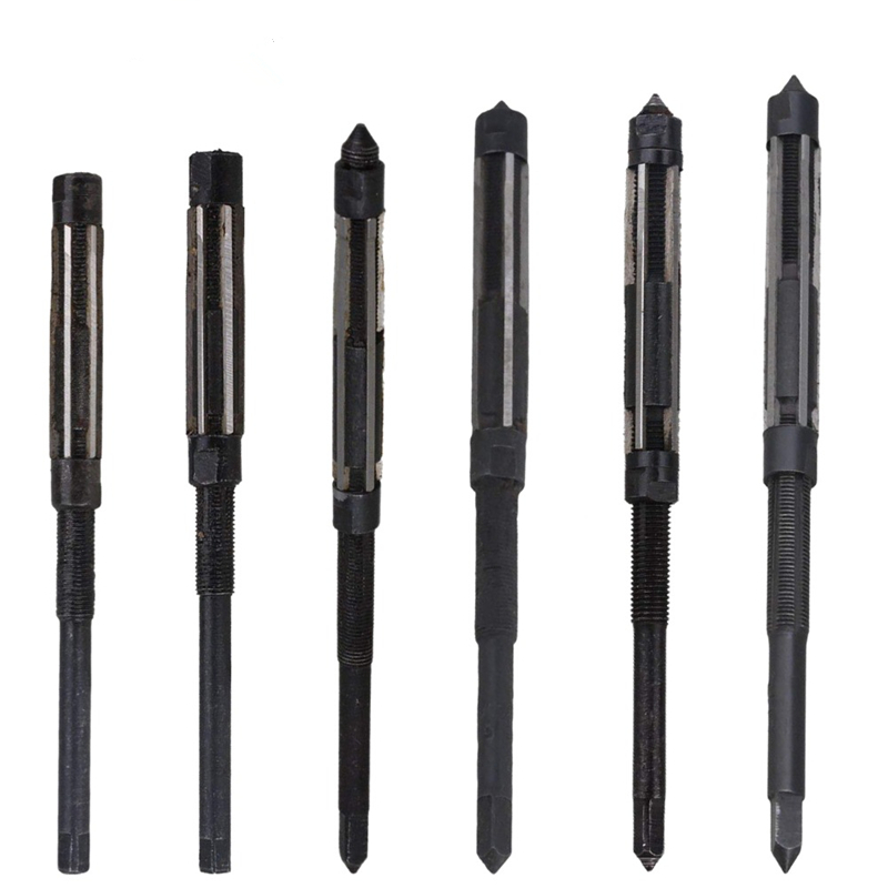 6PC Adjustable Hand Reamer HSS Size Range Alloy Steel Reamer Hand Reamer Machine Cutting Tool(6.25/6.75/7.25/7.75/8.5/9.25/10mm)