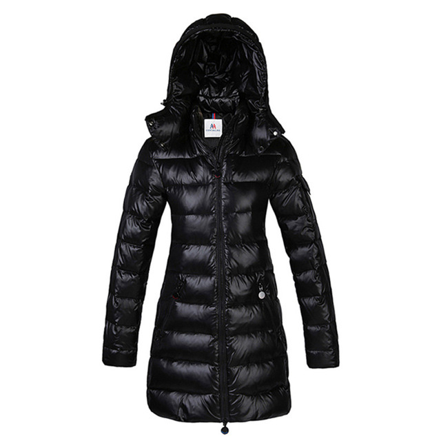 Shiny Down Coats Winter Women Down Jackets Long Outwear Snowsuits ...