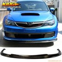 For 2008 2010 Subaru Impreza WRX STI CS Style Poly Urethane Front Bumper Lip