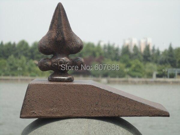 2 Pieces Rustic Cast Iron Cock Door Stop Wedge Doorstop Metal Home  Decorations Door Stopper Holder Rural Arts Fast Free Shipping