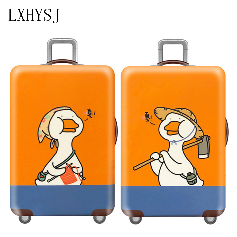 Elasticity Animal Pattern Luggage Cover Travel Suitcase Protective Covers For 18-32 Inch Suitcase Cover Travel Accessories