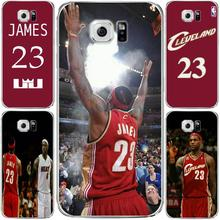 NBA James 23 Jersey Tpu Phone Case For Samsung S6 edge for galaxy S7 edge Case soft Ultra slim silicone Tpu Phone Cover