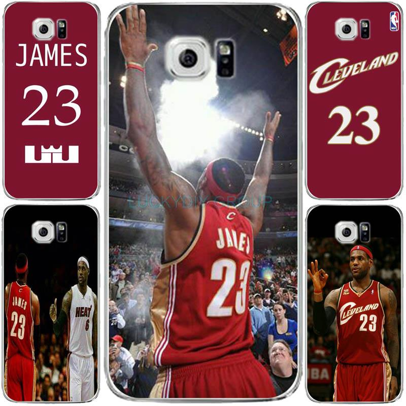 NBA James 23 Jersey Tpu Phone Case For Samsung S6 edge for galaxy S7 edge Case