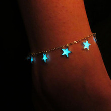 New Arrival 3 Fluorescent Bracelets&Bangles Flower Star Heart Shape accessories Glow In The Dark bracelets women jewelry