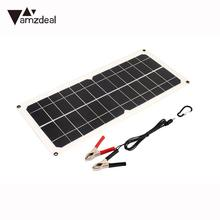Durable Solar Generator Solar Panel Emergency Power Supply Car Battery Chargiing Fast Charger Outdoor 10W 18V USB+DC Port