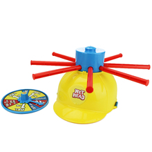 Wet Head Hat Water Game Challenge Jokes And Funny Roulette Toy Practical Prank gift